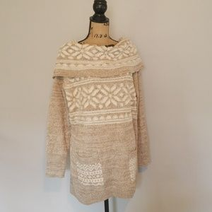Umgee Cowl Neck Sweater